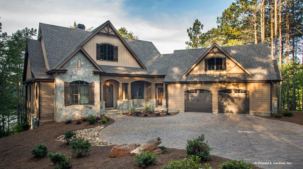 Luxury House Plans With Walkout Basement