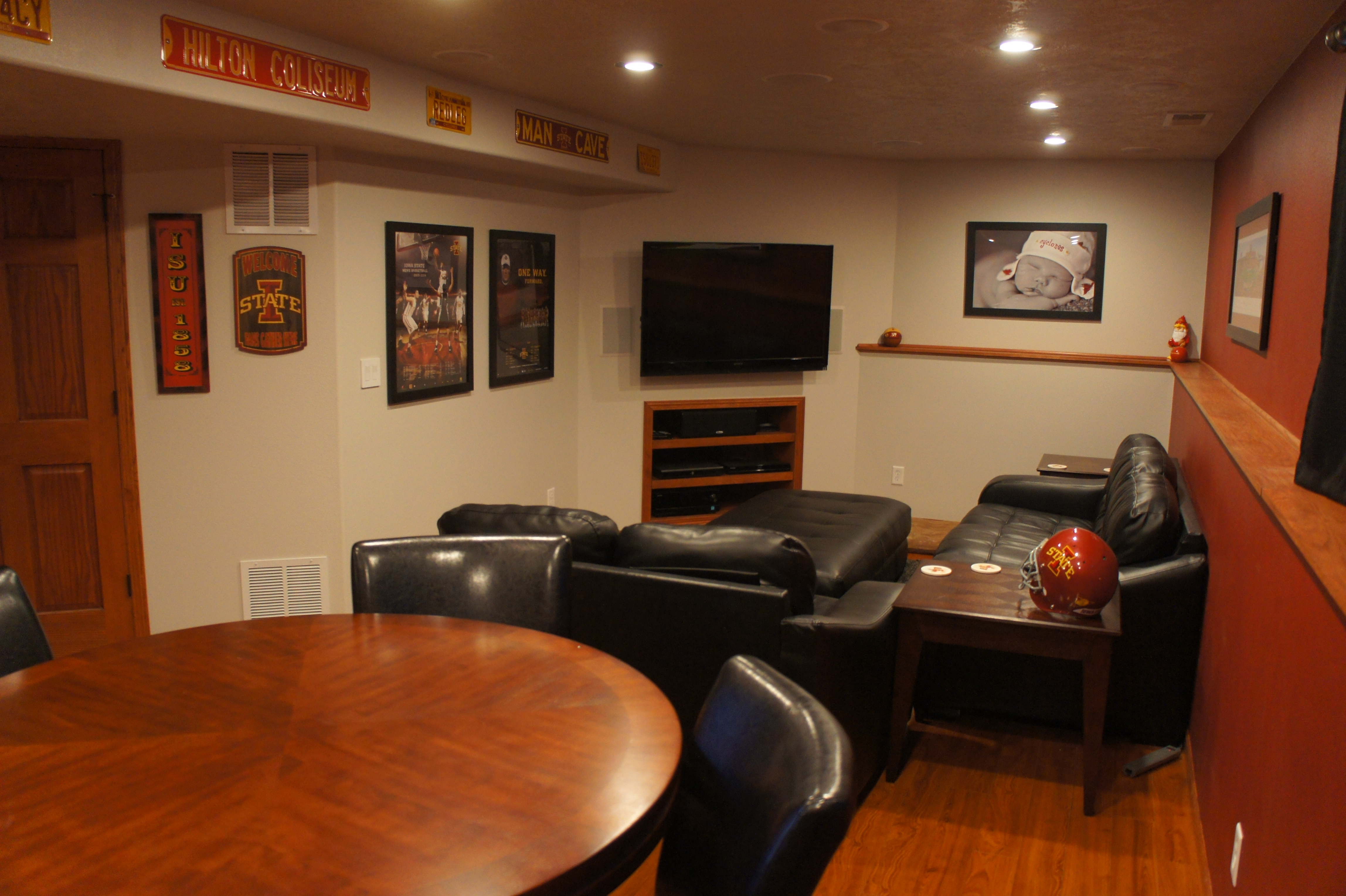 Man Cave Ideas For Small Basements