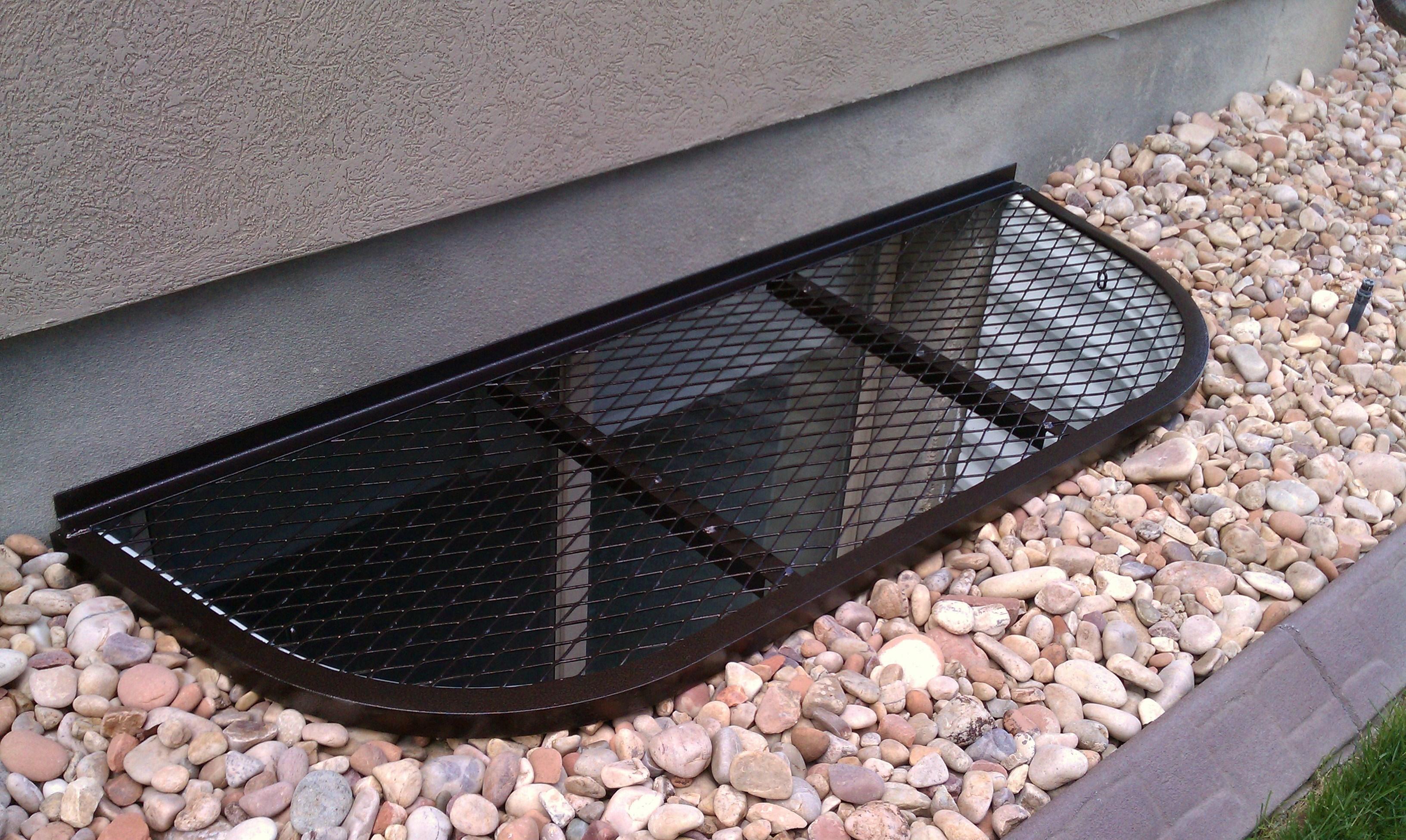 Metal Basement Window Well