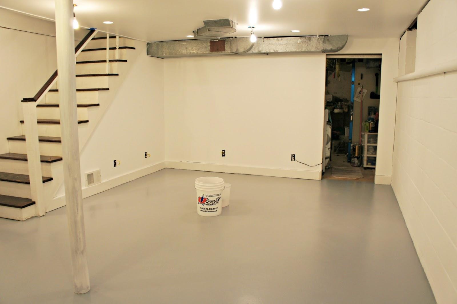 Mixing Cement For Basement Floor