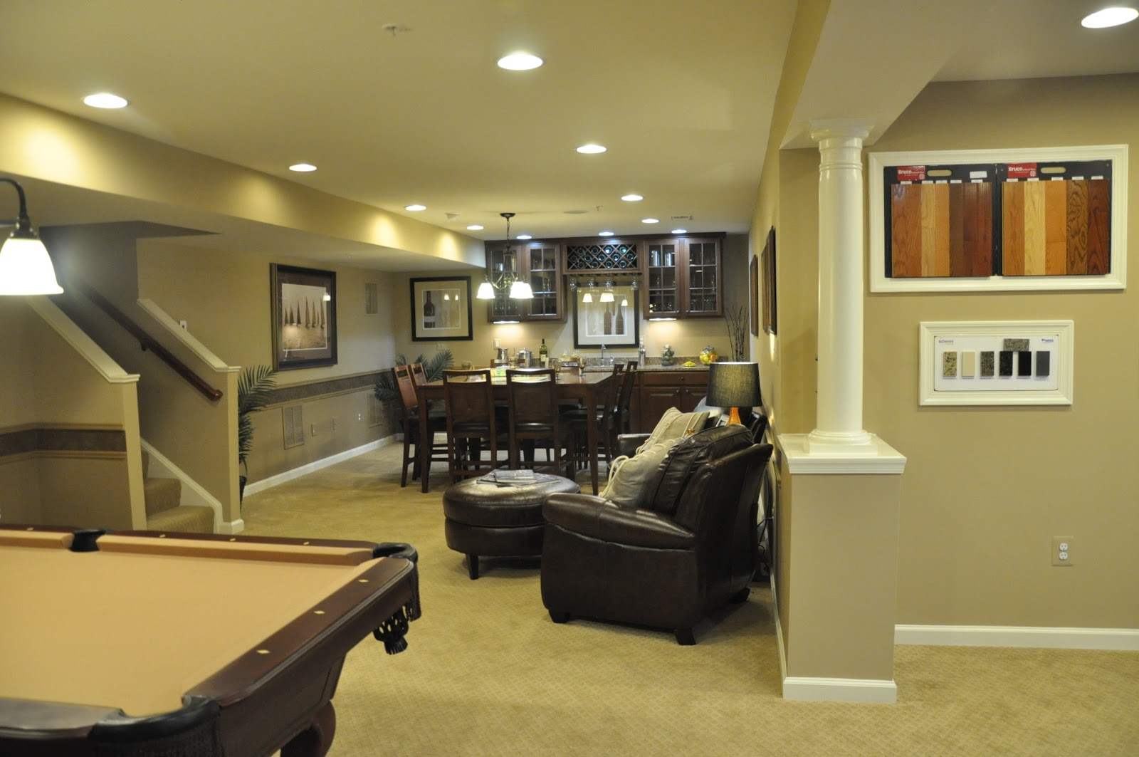 Model Homes With Finished Basements
