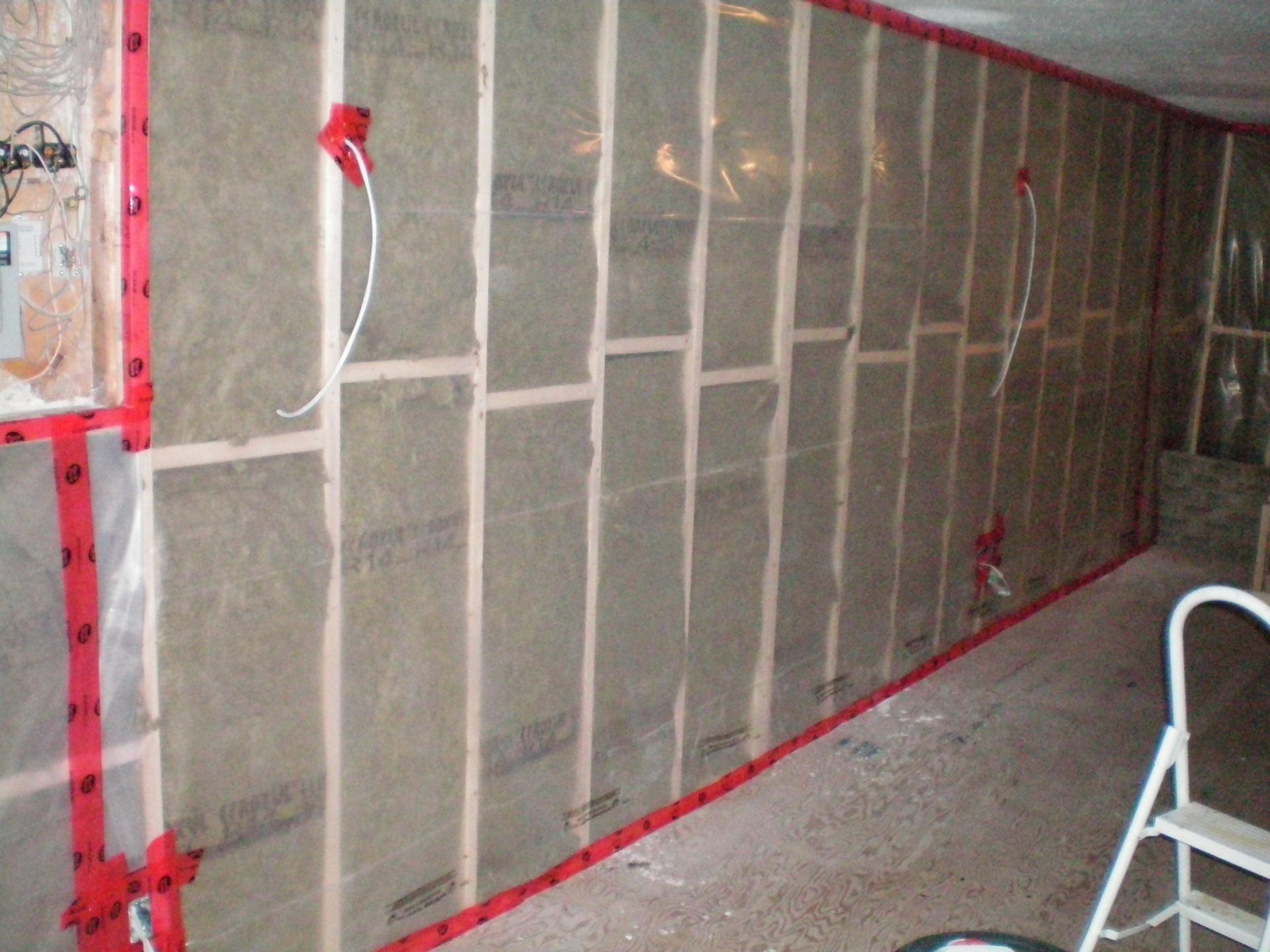 Moisture Barrier Basement Walls