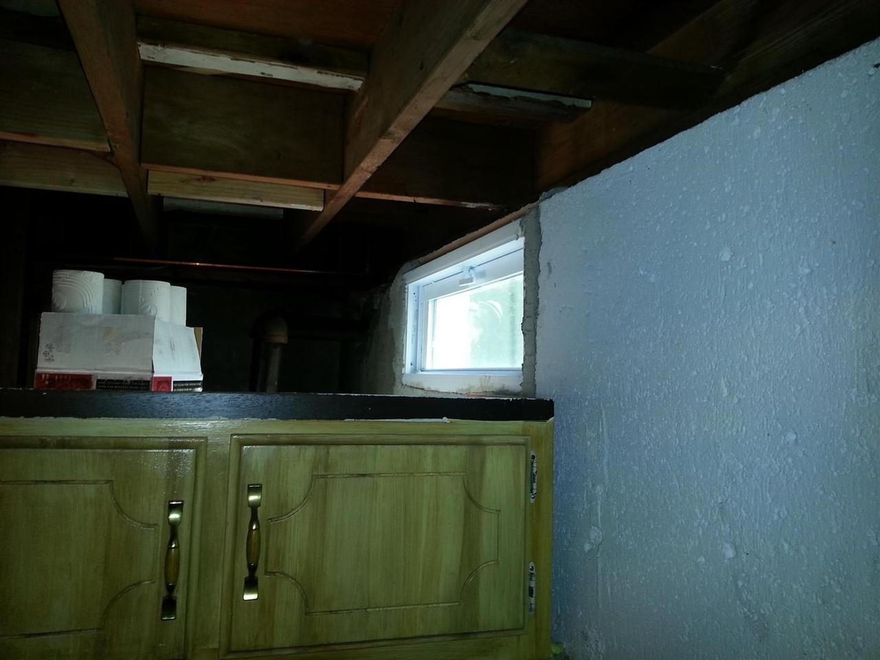 Old Steel Basement Windows