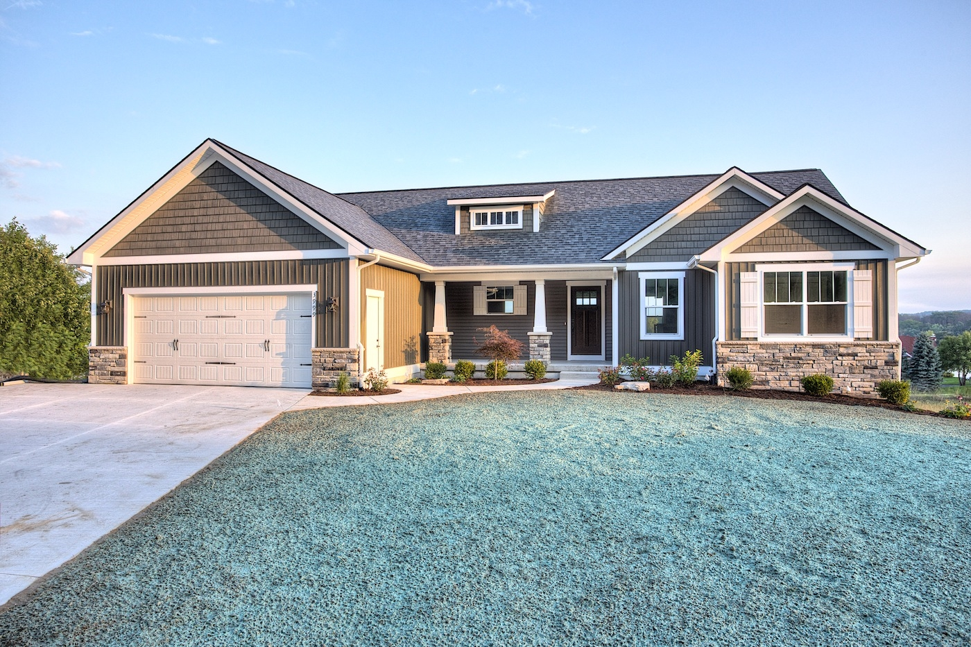 One Story Home Plans With Walkout Basement