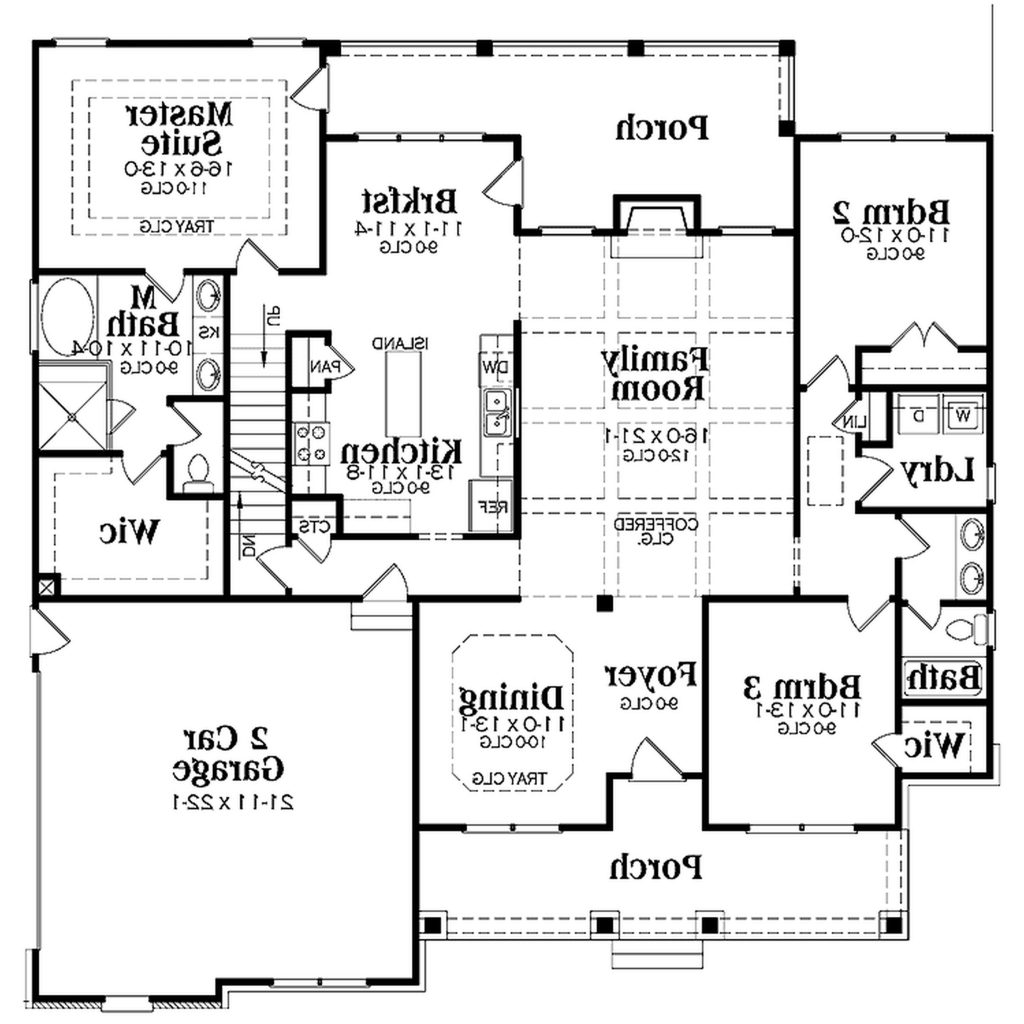 one story house plans with basement and porch basement