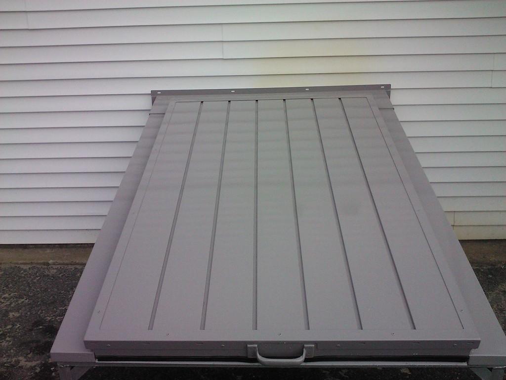 Plastic Basement Door Covers
