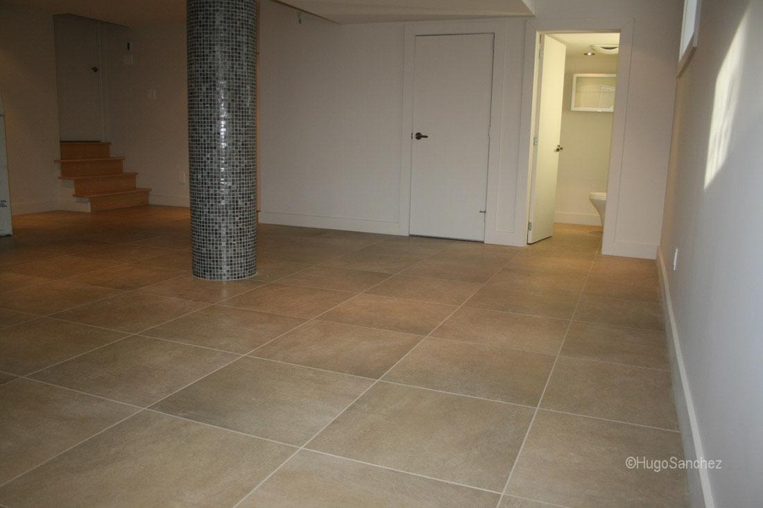 Porcelain Tile For Basement Floor