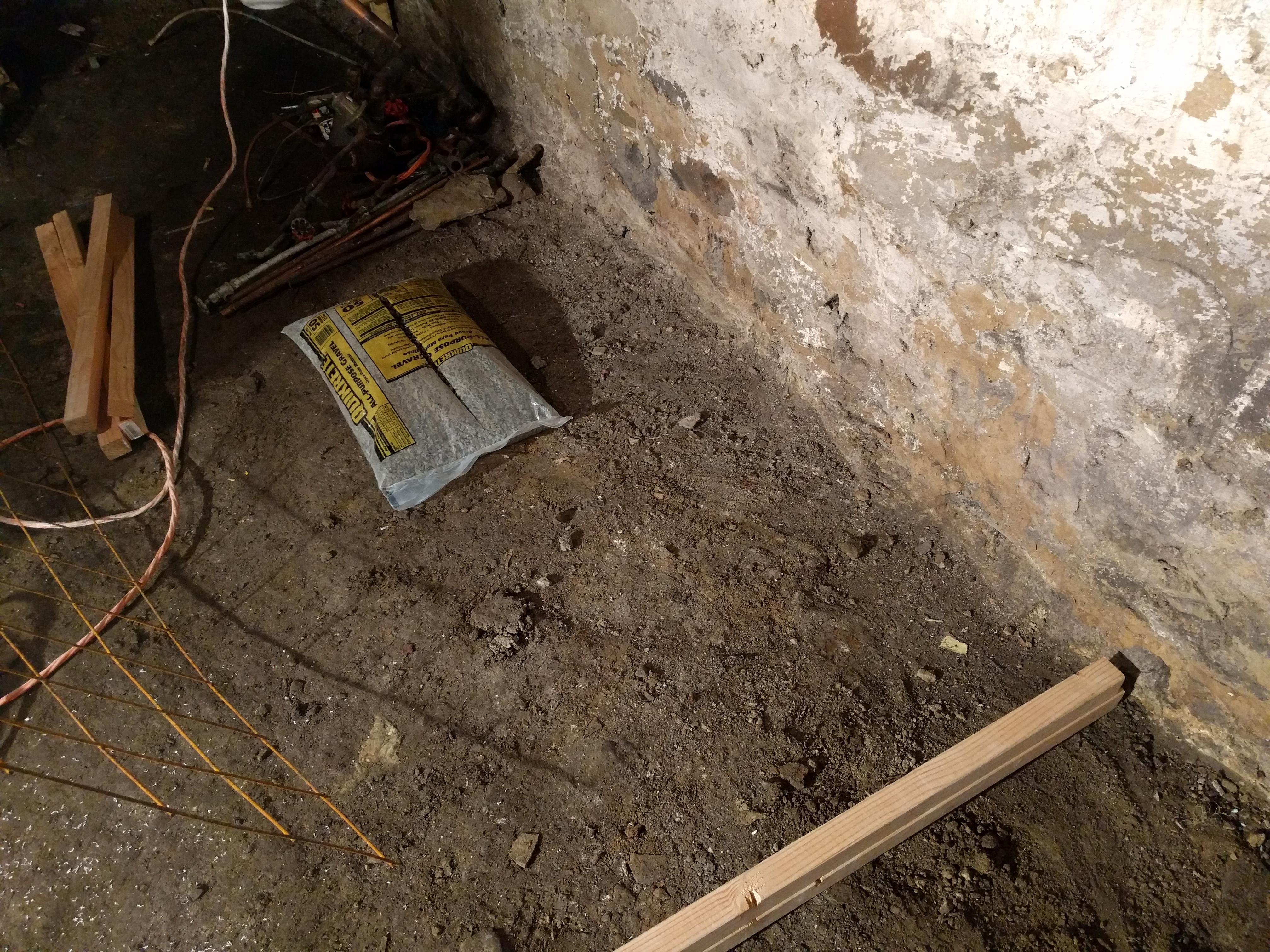 Pour Concrete Over Dirt Basement Floor