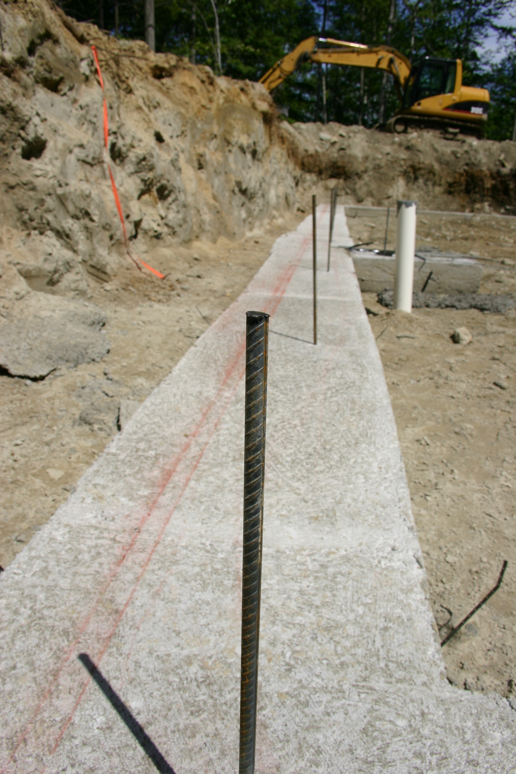 Poured Concrete Basement Wall Thickness