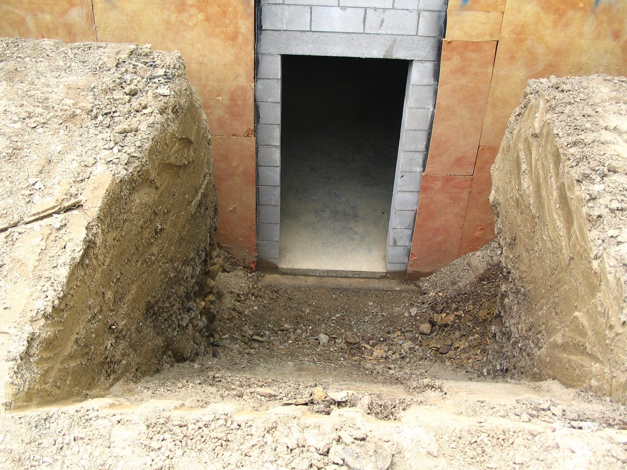 Precast Exterior Basement Stairs