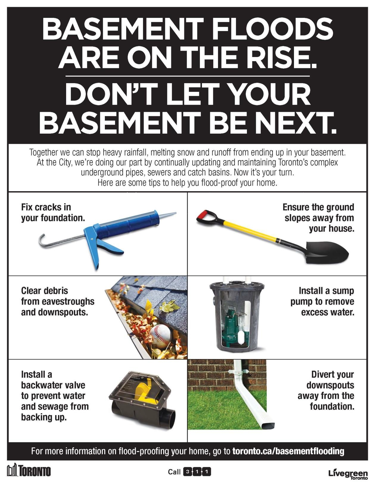 Permalink to Preventing Basement Flooding