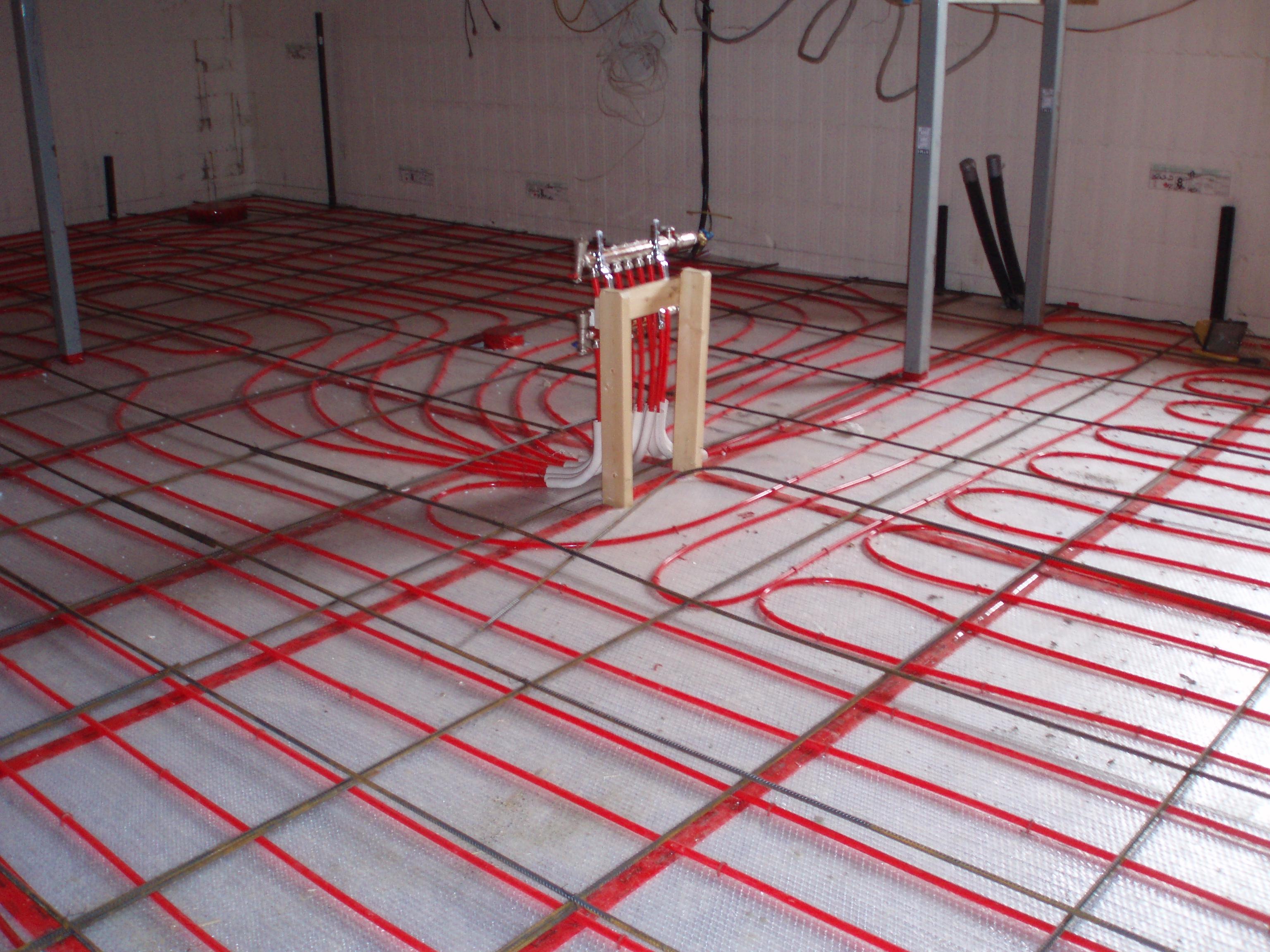 Radiant Floor Heating Basement Concrete
