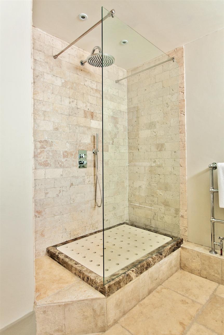 Raised Floor For Basement Shower