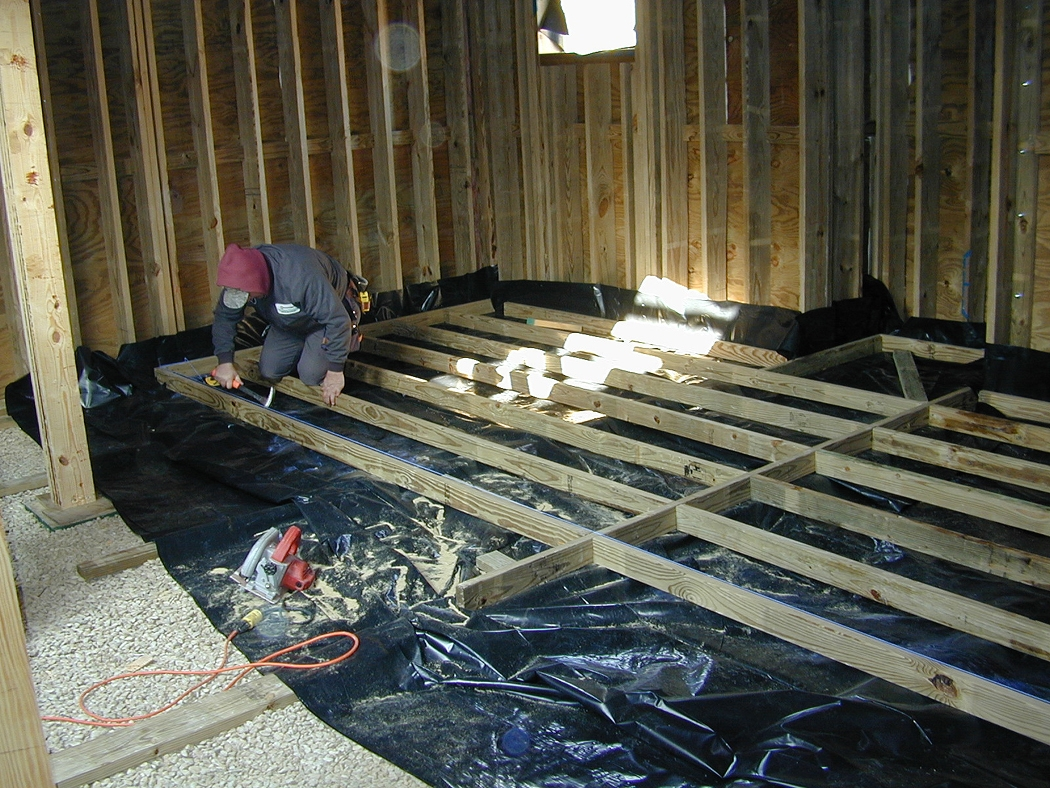 Raised Floor Systems For Basements