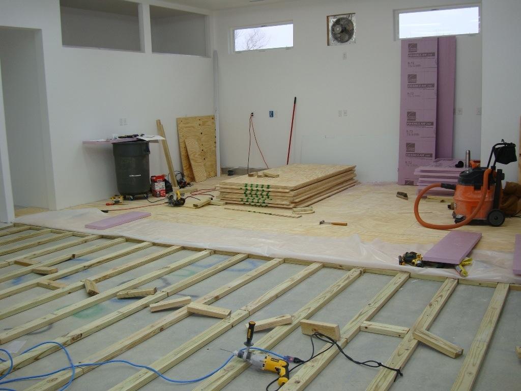 Raised Flooring For Wet Basements Basement