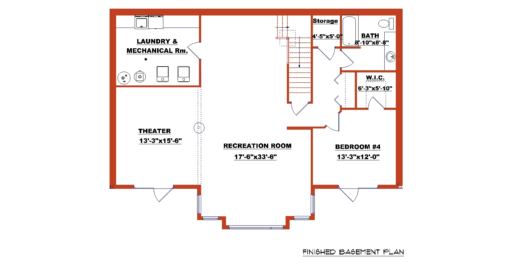 Ranch Home Plans With Walkout Basements