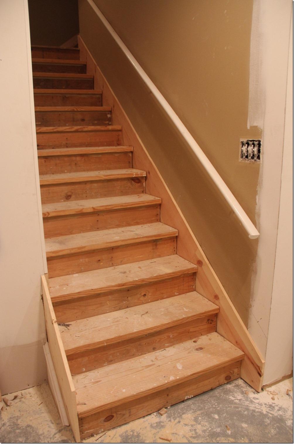 Redo Stairs To Basement