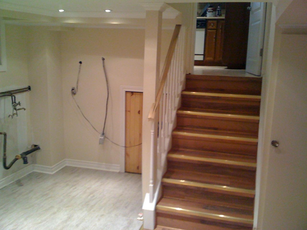 Remodel Basement Stairsfinishing basement stairs modernize