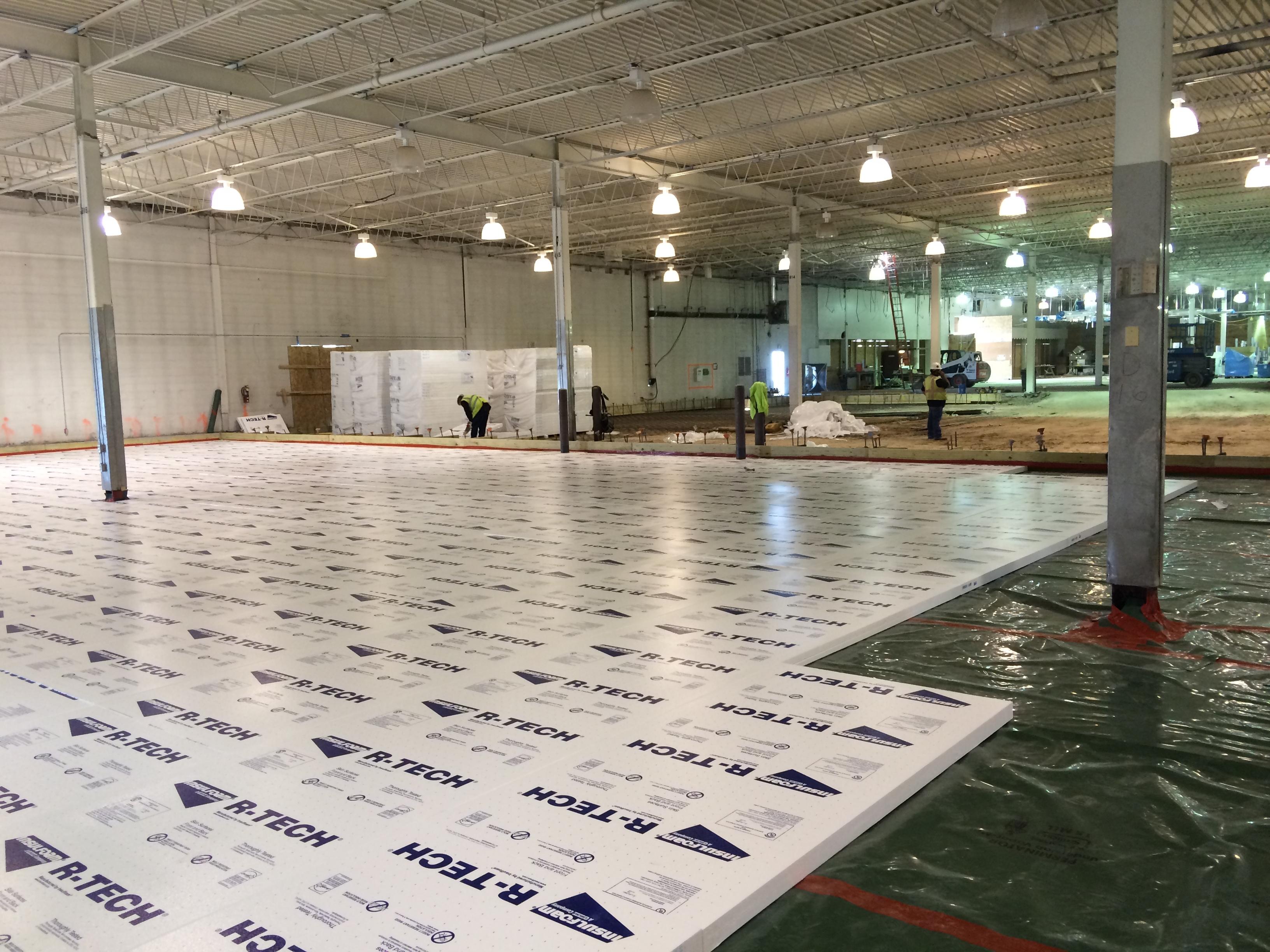 Rigid Foam Insulation Basement Floor
