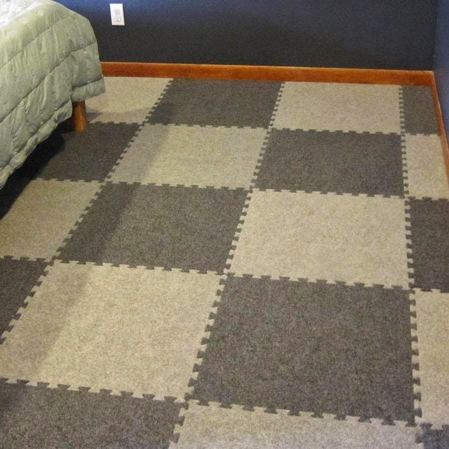 Rubber Mat Flooring Basement
