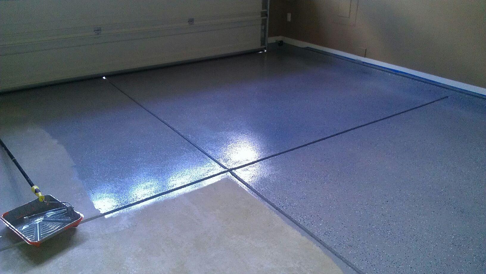 Rustoleum Bat Floor Epoxy Clear
