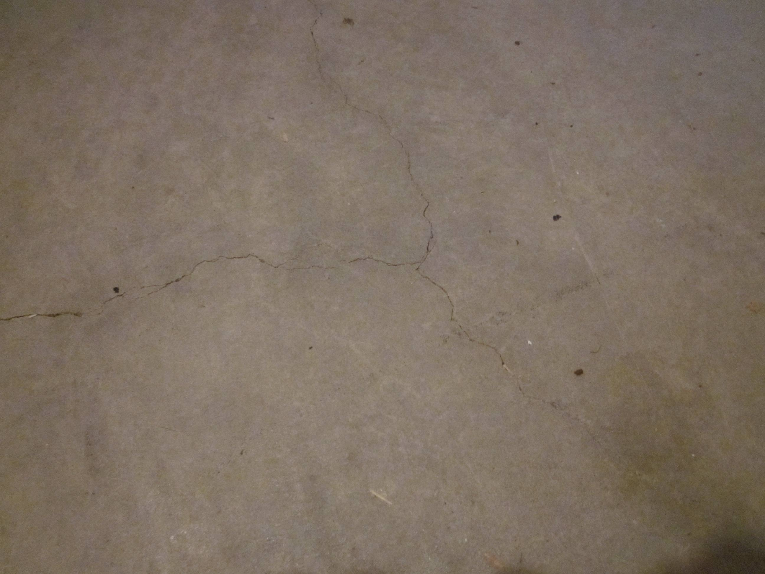 Sealing A Basement Floor Crack