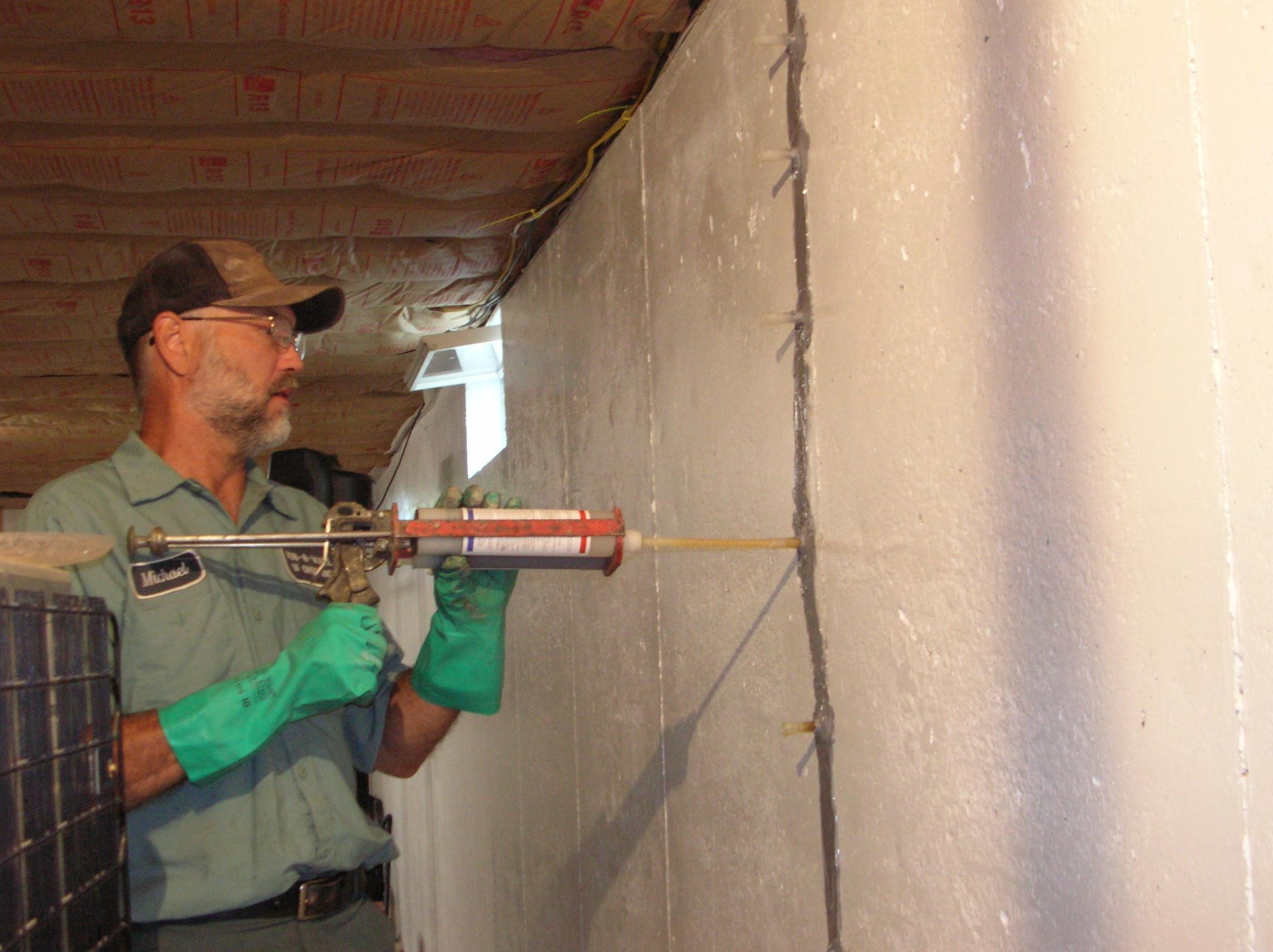 Sealing A Basement Wall Crack