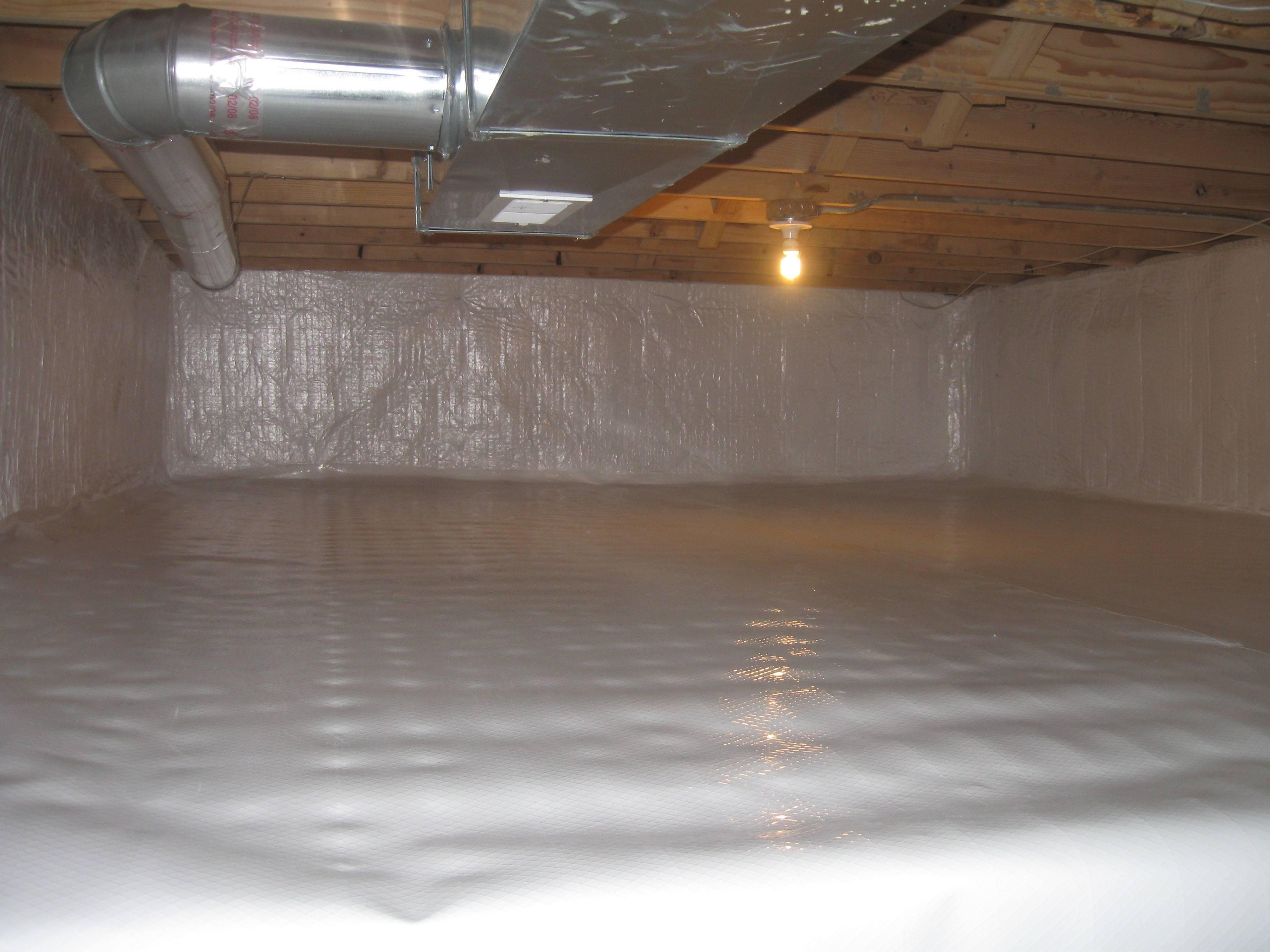 Sealing A Dirt Basement Floor