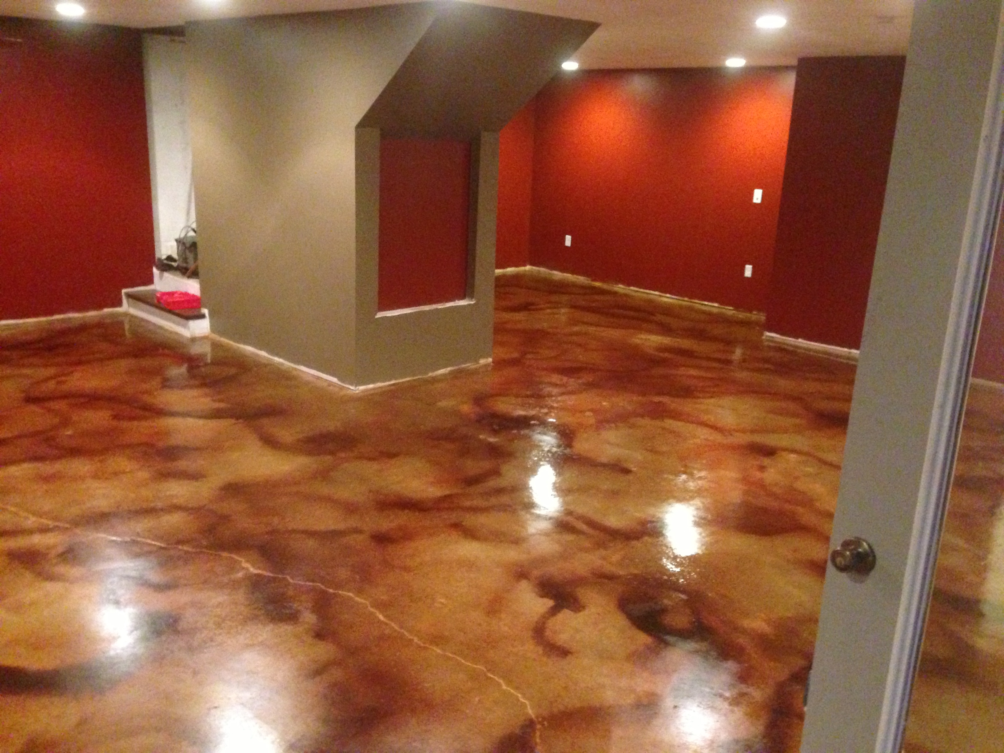 Sealing Basement Concrete Floor Before Carpet