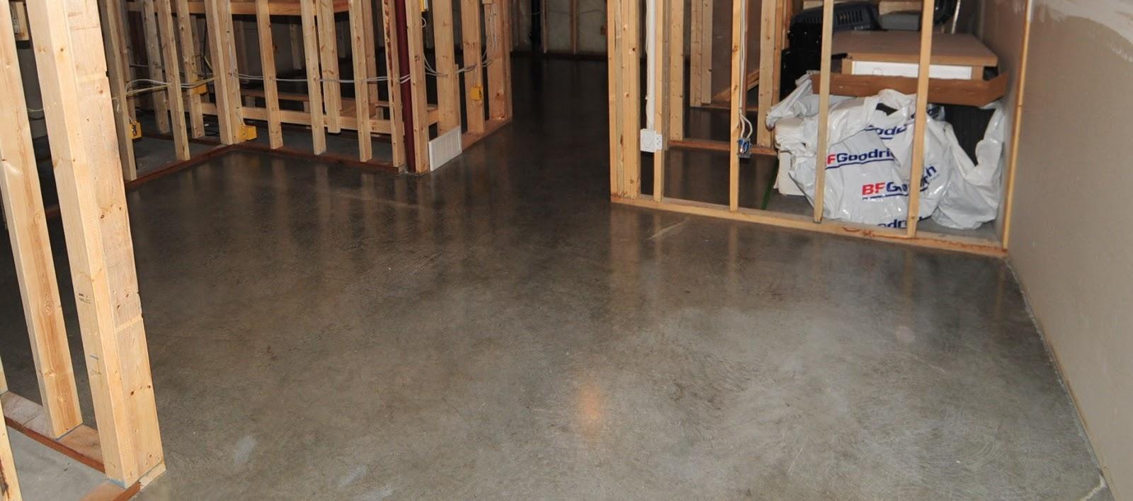 Sealing Basement Floor Before Finishing Sealing Basement Floor Before Finishing concrete basement floor sealer basement decoration ebp4 1600 X 708