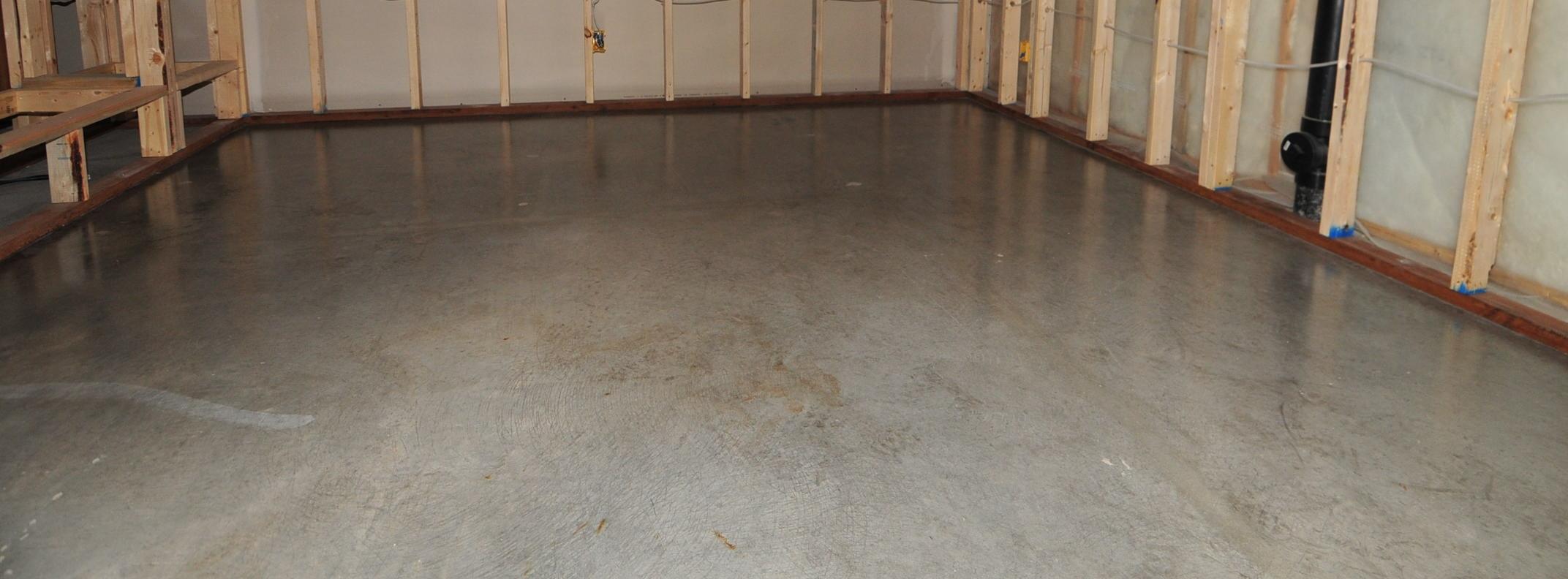 Sealing Basement Floors Concrete
