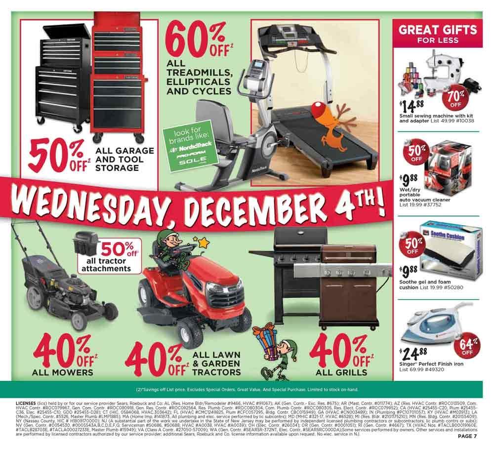 Sears Bargain Basement Washers