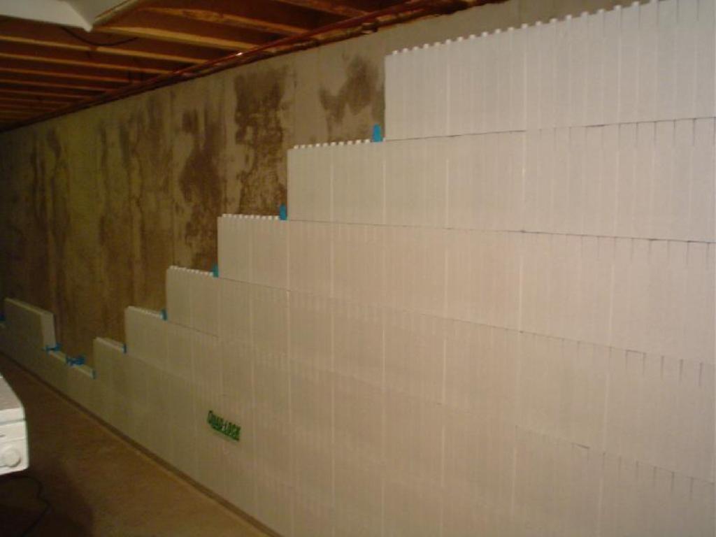Sheetrock Basement Concrete Walls