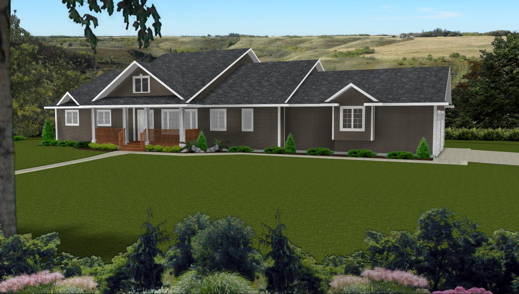 Simple Ranch Style House Plans With Walkout Basement Basement