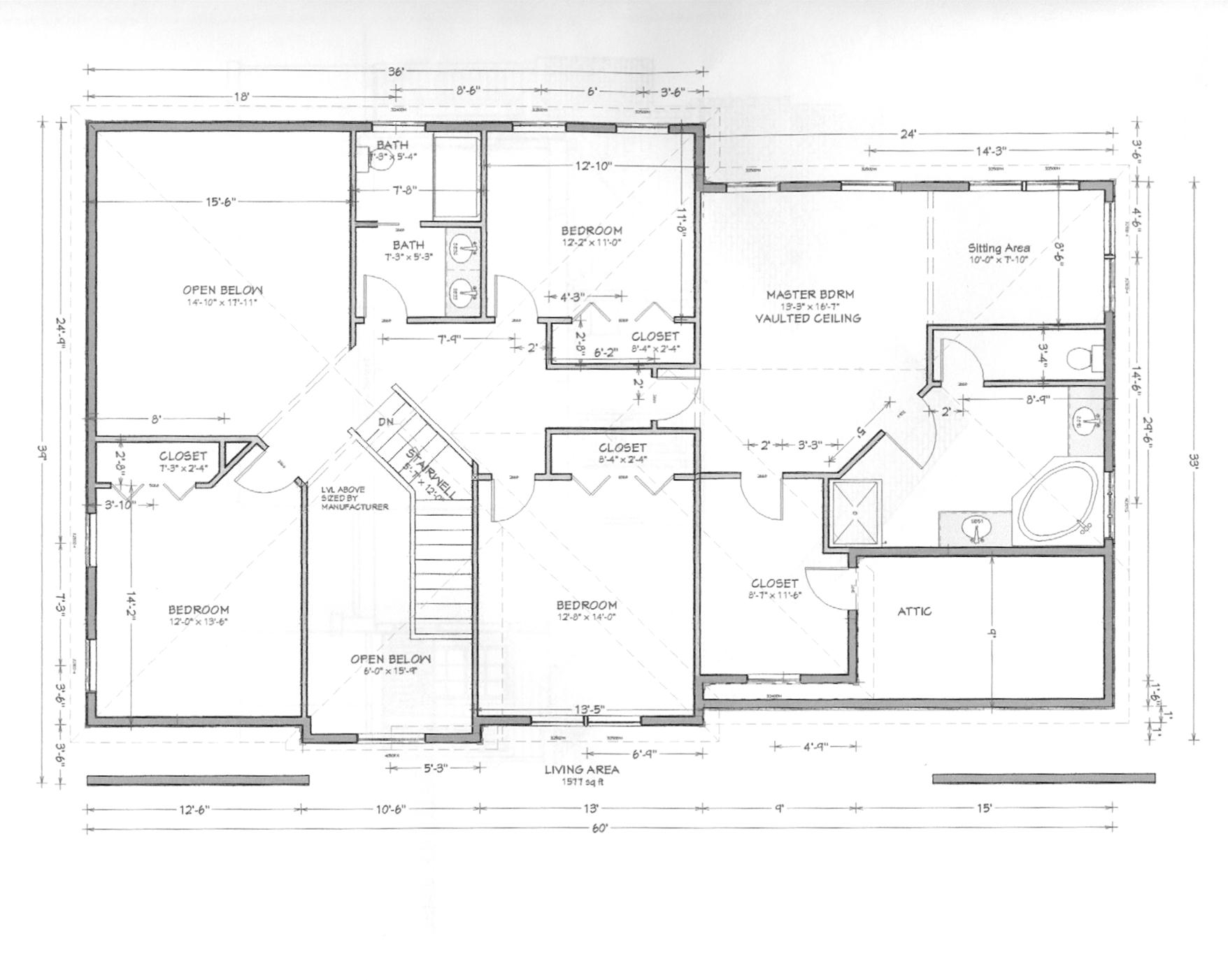 Single Story Home Plans With Walkout Basement