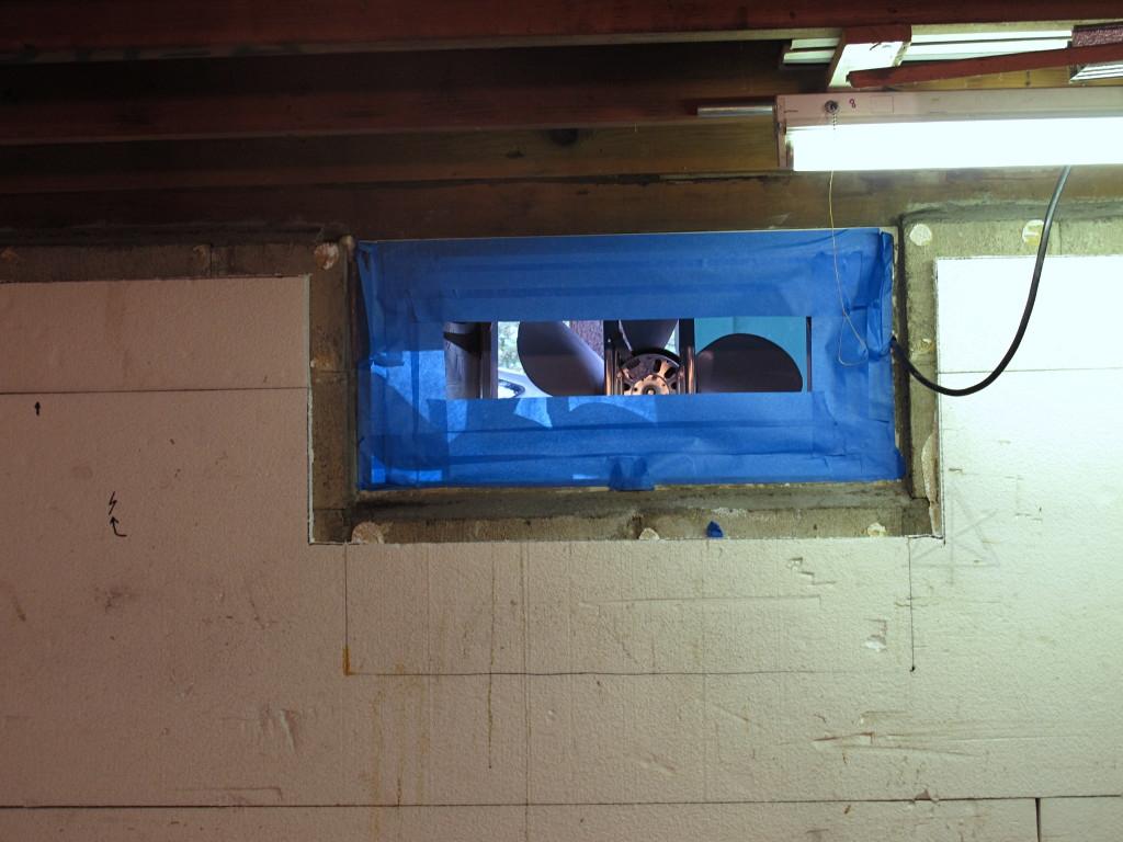 Small Basement Window Exhaust Fan