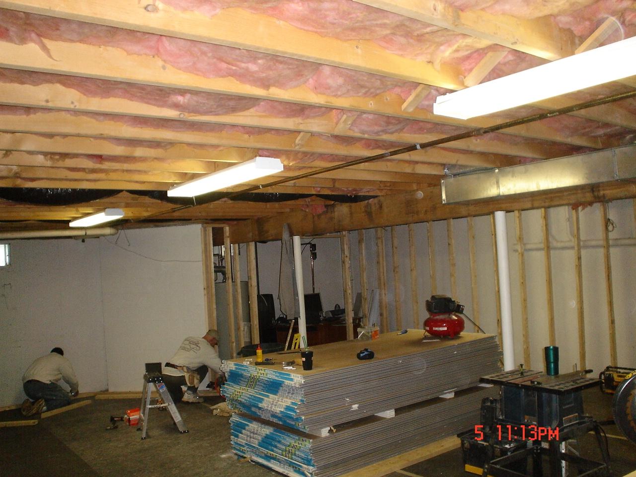 Soundproofing Basement Ceiling Foam