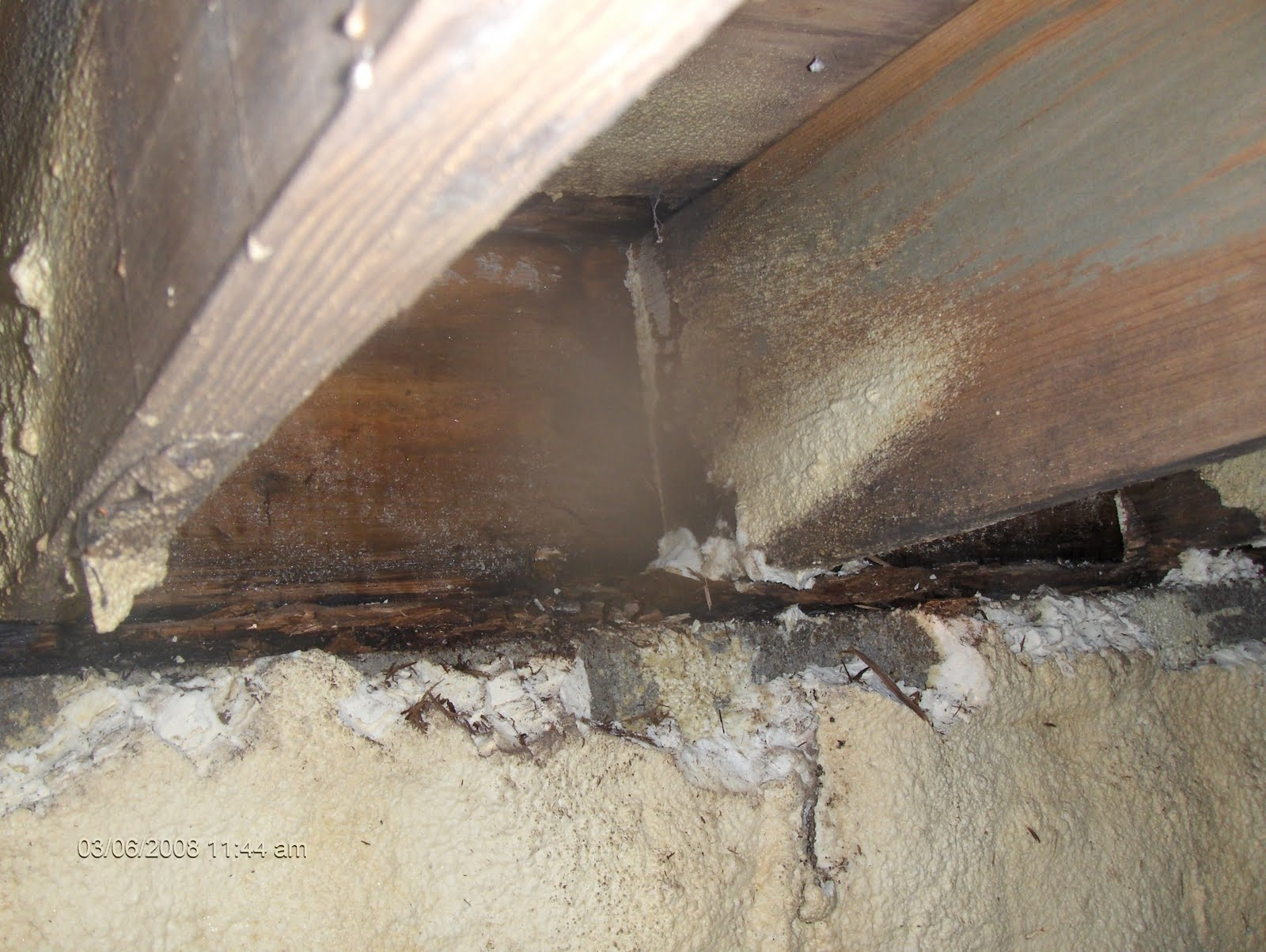 Spray Foam Insulation Basement Sill