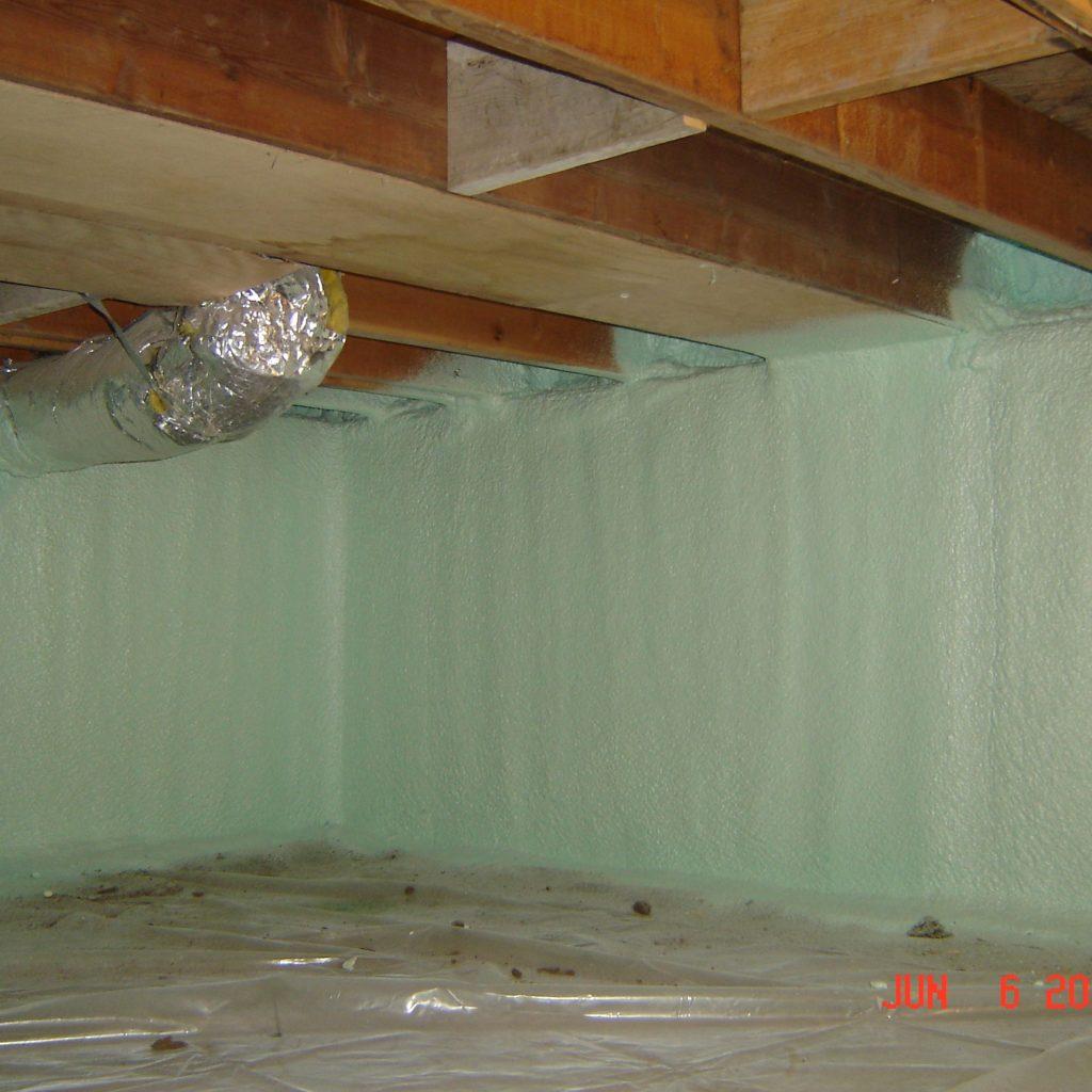 Spray Foam Insulation Basement Vapor Barrier • BASEMENT