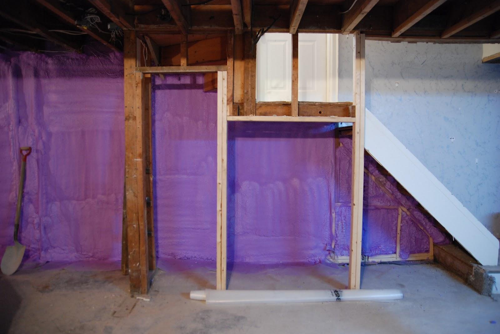 Spray Foam Insulation Basement Walls Mike Holmes