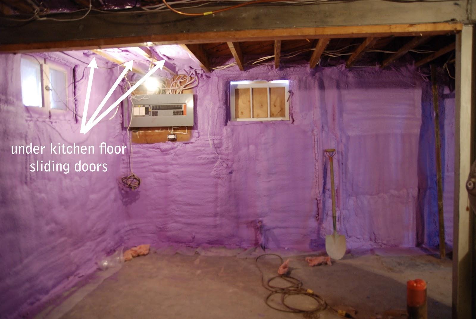 Spray Foam Insulation For Basements