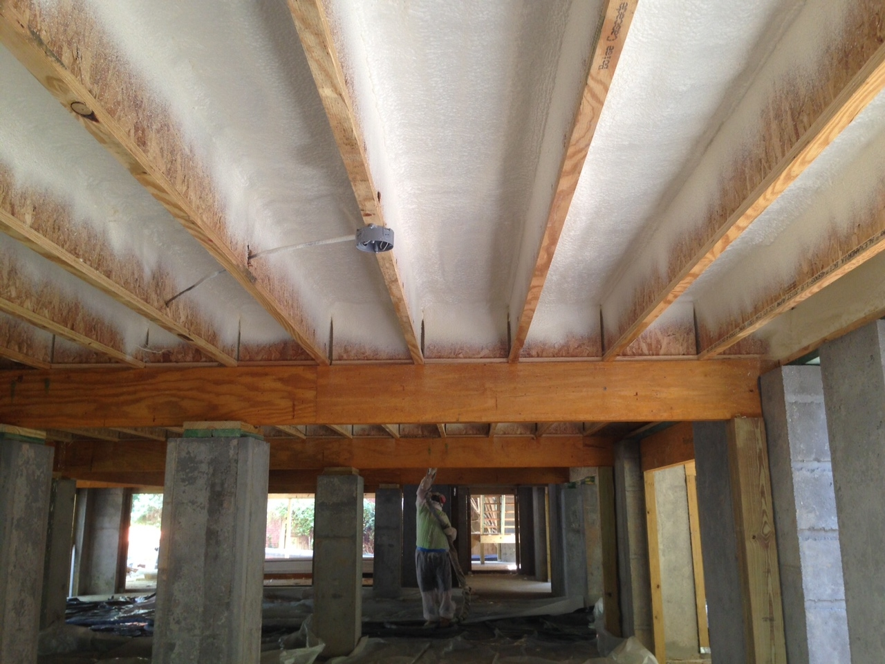 Spray Insulation For Basement Ceiling