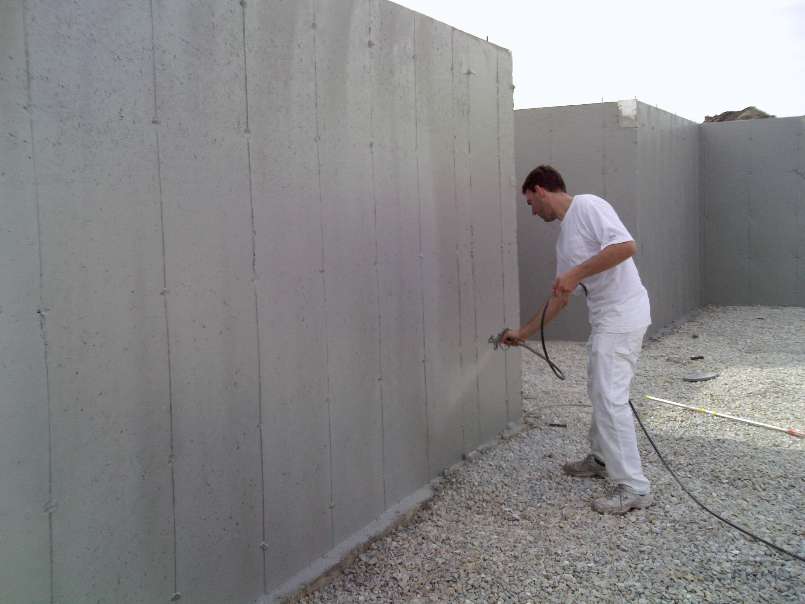 Sprayable Basement Waterproofing