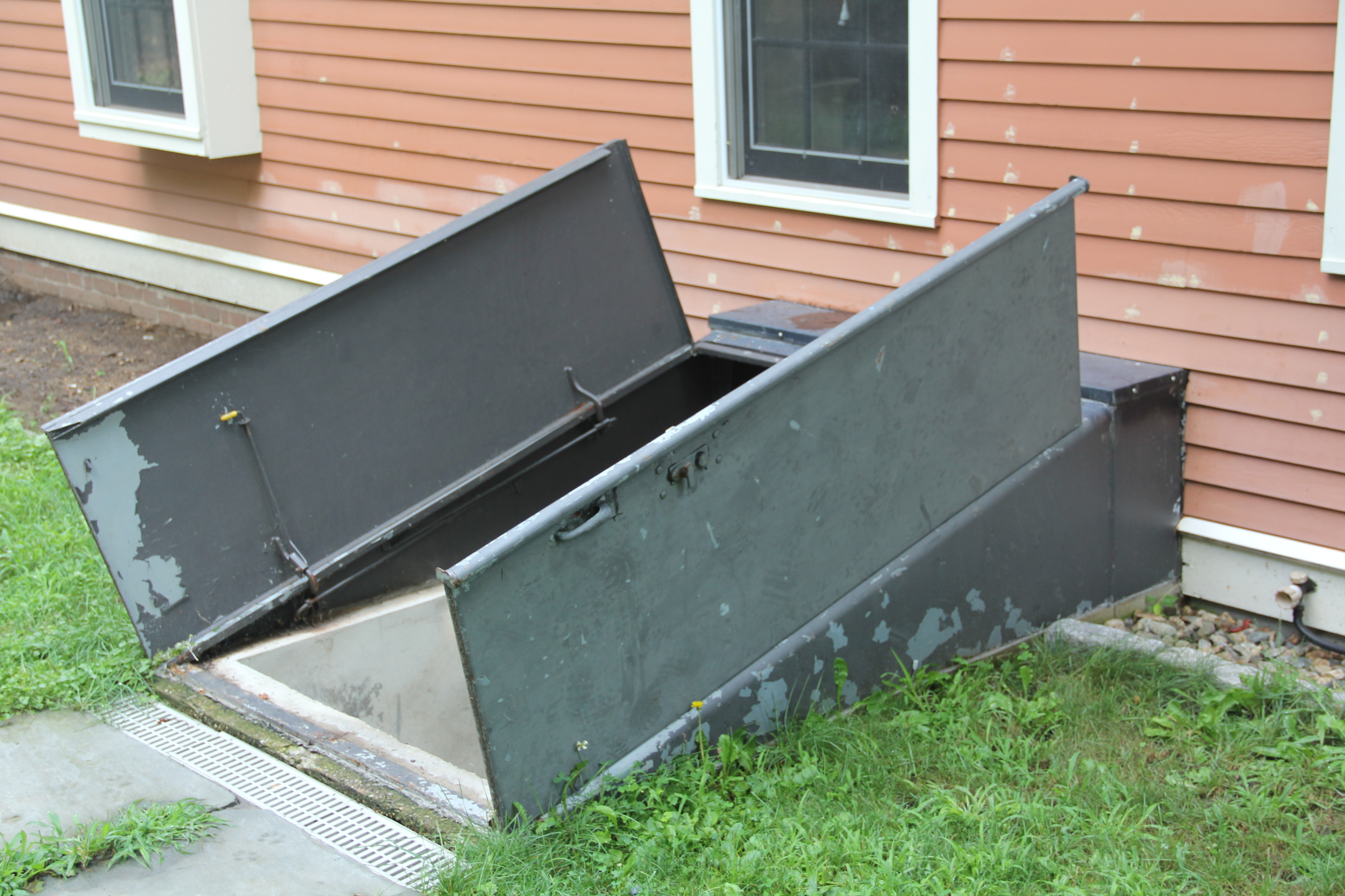 Steel Insulated Basement Door