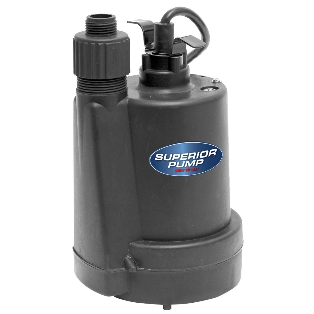 Submersible Pump For Flooded Basement