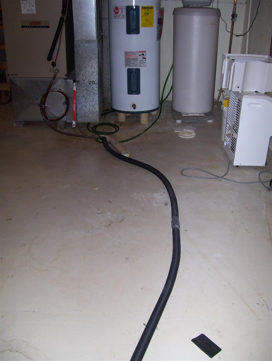 Sump Pump Basement Floor Drain