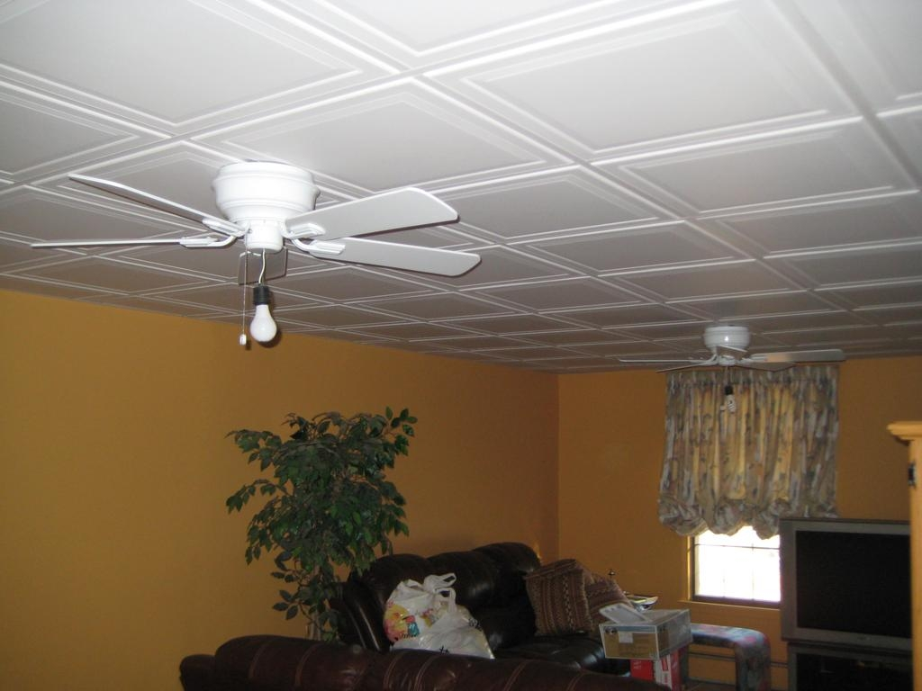 Suspended Ceiling Systems For Basements