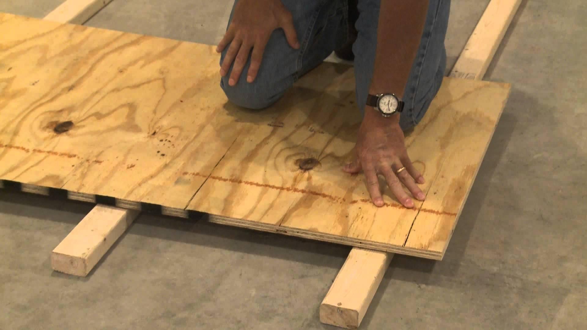Underlay For Basement Floors