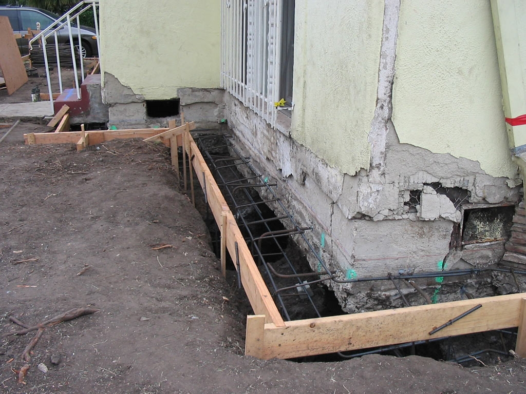 Underpinning A Basement Foundation Wall
