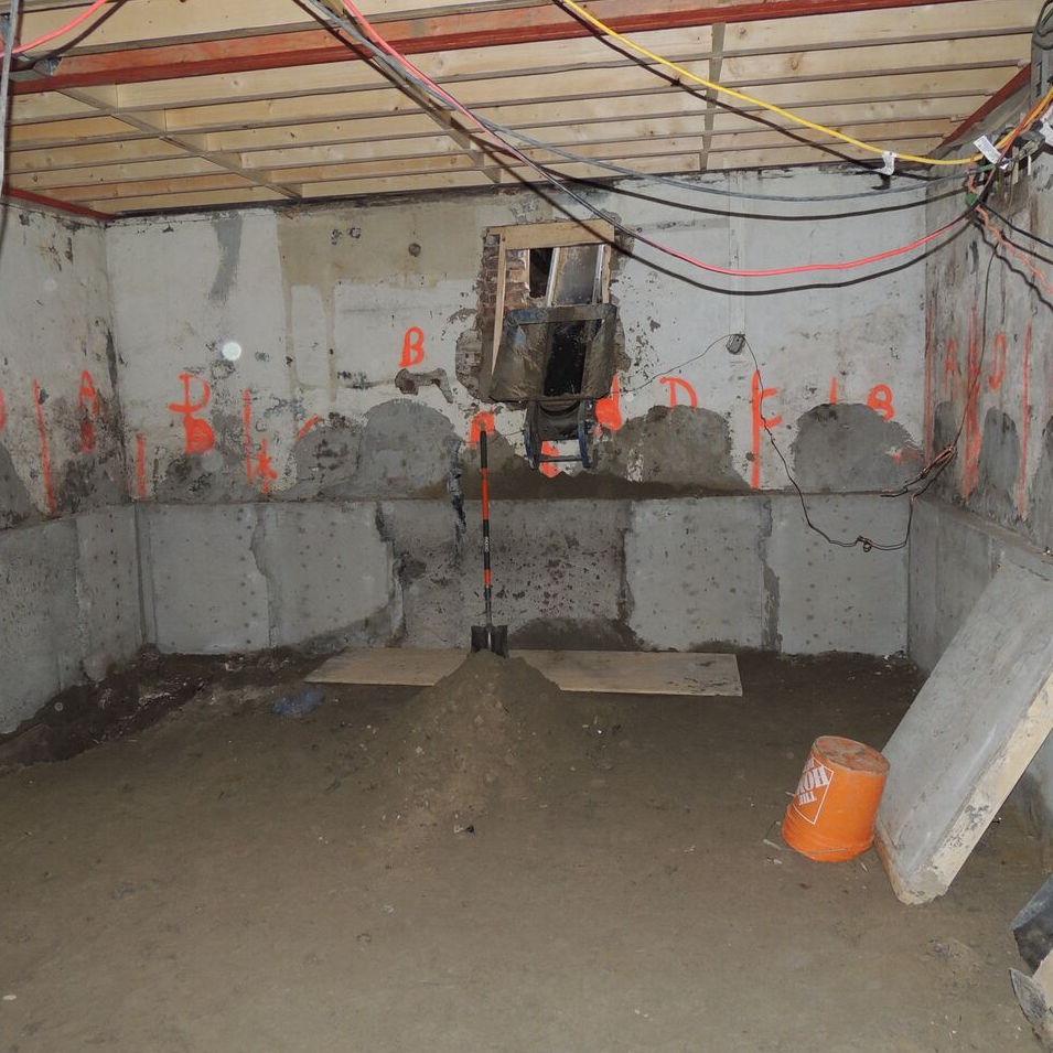 Underpinning Basement Foundation
